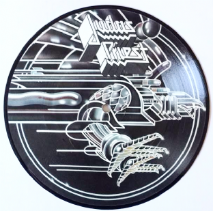 "Judas Priest ‎- You've Got Another Thing Comin' (7"") (Picture Disc) (VG+/NM)"